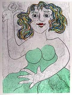 Enrico Baj: Woman (1970)