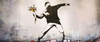Bansky: Flower Thrower