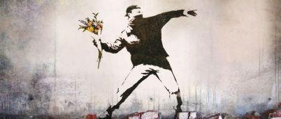 Banksy: Flower Thrower