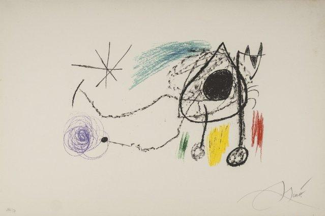 """Joan Miró: """"Sobreteixims i escultures"""" http://www.galeriabat.com/obra/joan-miro/sobreteixims-i-escultures-810"""