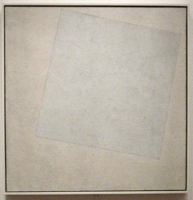 Kazemir Malévich: Blanco sobre blanco (1918)