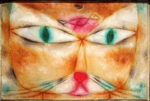 Paul Klee: Gato y pájaro (1928)