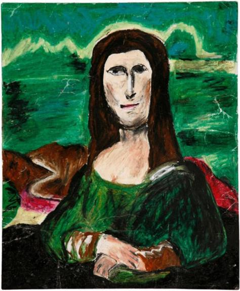 """The Mana Lisa,"" a different take on ""The Mona Lisa"". Added by Marshall University FYS on 2015-11-30."