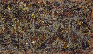 Pollock: Number 5. (1948)