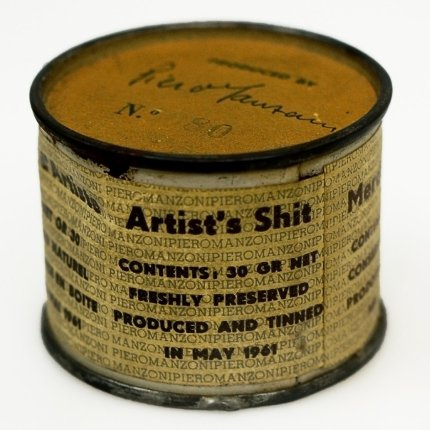 Piero Manzoni: Artist's Shit, 1961.
