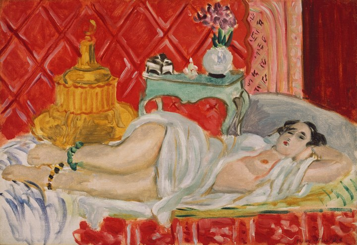 Reclining Odalisque (Harmony in Red) 1927